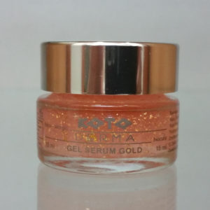 Gel serum gold