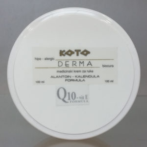 Medicinski krem za ruke q10 vitE formula