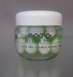 Aloe gel double action